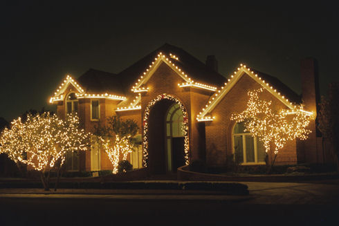 holiday lights in kansas city and overland park