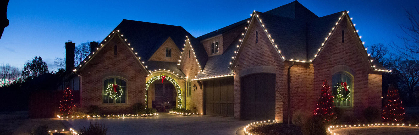 Holiday Lighting In Overland Park Leawood And Kansas